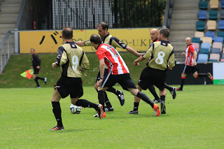 Torneo triangular de veteranos con el Barakaldo, Athletic y Eibar