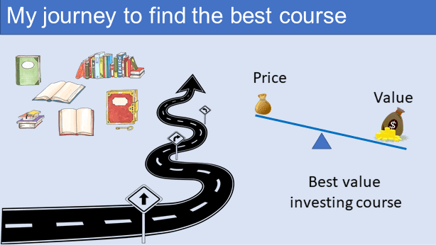 My journey to find the best value investing cours
