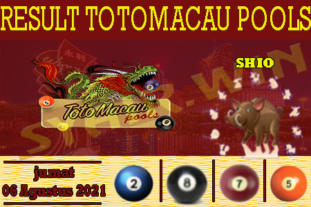 Prediksi Result Toto Macau Jumat 06 Agustus 2021