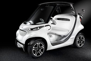Mercedes-Benz Style Edition Garia Golf Car Concept (2016) Front Side