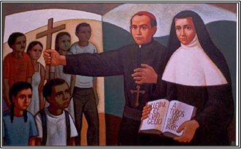 Fundadores de los/las misioneros/as Claretianos/as