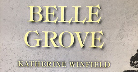 Promo & Giveaway 'Belle Grave' by Katherine Winfield