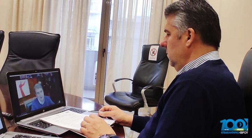 Μ. Χρυσοχοΐδης: Ενίσχυση του τελωνείου Κήπων - Κλειστό παραμένει το τελωνείο Καστανεών - Αναβάθμιση του μεθοριακού σταθμού Νυμφαίας
