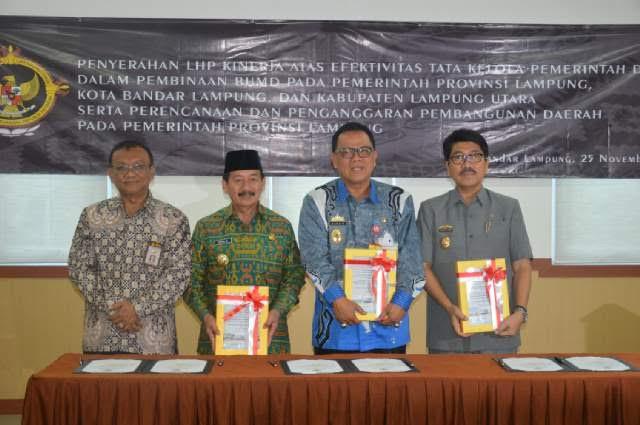 Bpk Ri Serahkan Laporan Hasil Permeriksaan Kepada Pemerintah Daerah