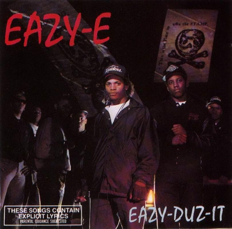 Eazy E - Eazy Duz It  CD-1988 Eazy E Eazy Duz It