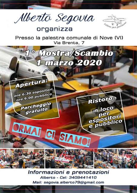 Prima mostra scambio Alberto Segovia Nove VI