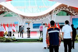 Jokowi Ajak Tingkatkan Kualitas Pelayanan di Bandara Mopah Merauke