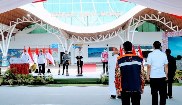 Jokowi Ajak Kualitas Pelayanan di Bandara Mopah Merauke Semakin Meningkat.lelemuku.com.jpg
