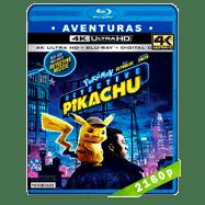 Pokémon: Detective Pikachu (2019) Ultra HD BDREMUX 2160p Latino