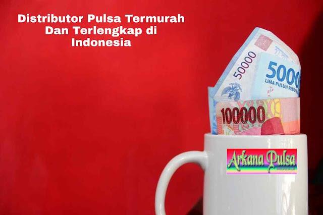Distributor Pulsa Termurah dan Terlengkap di Indonesia
