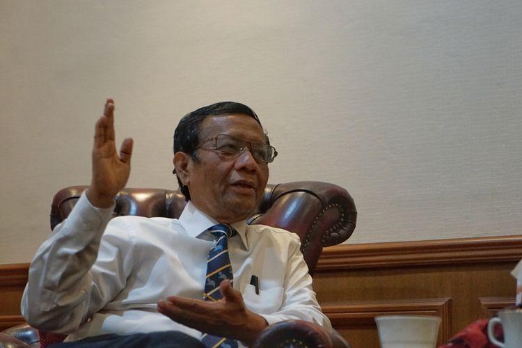 Langgar Konstitusi Bisa untuk Selamatkan Rakyat, Mahfud MD Contohkan 2 Tokoh Ini