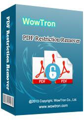 WowTron PDF Encryption Portable