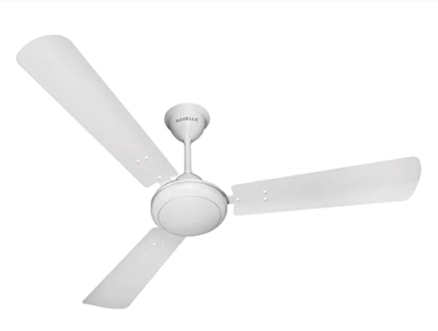 Havells SS 390 1200mm Ceiling Fan (Pearl White Silver)