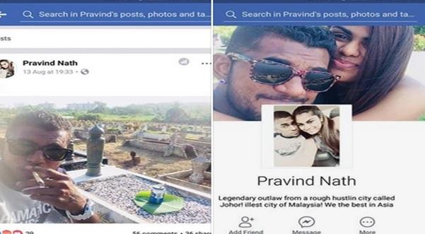 Apa motif ko snap gambar sambil letak tin arak atas kubur orang islam???