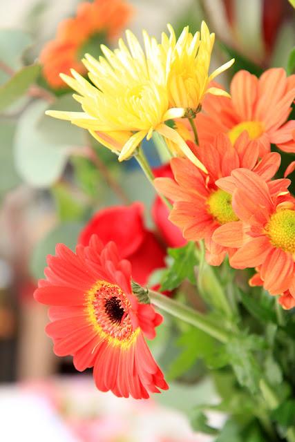 Autumn Flower Bouquet - Photo by Mademoiselle Mermaid