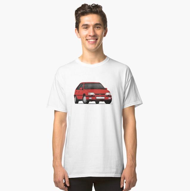 Vauxhall Astra Mk2 GTE 16V - Car T-shirt