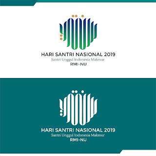 Logo Hari Santri Nasional (HSN 2019)