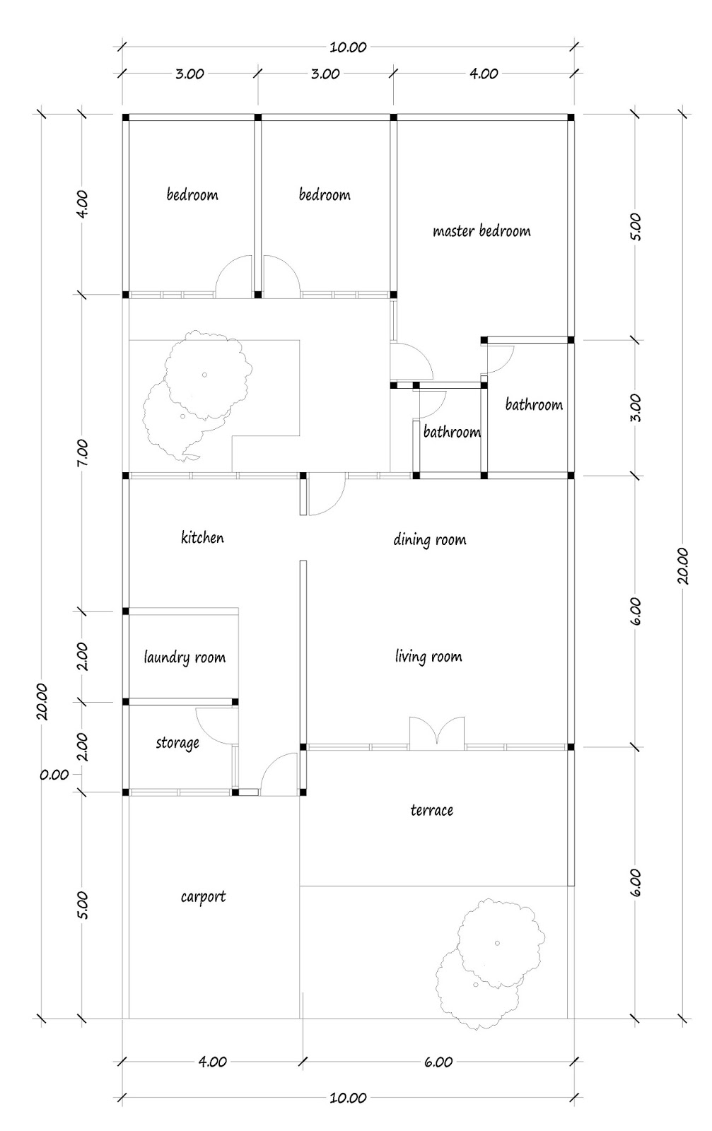 House plans for you plans image design and about house for Kitchen design 6m x 3m