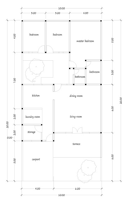 House with floor area of 135 square meters-04