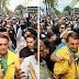 Bolsonaro é ovacionado por multidão no  Rio Grande do Sul; VEJA VÍDEO