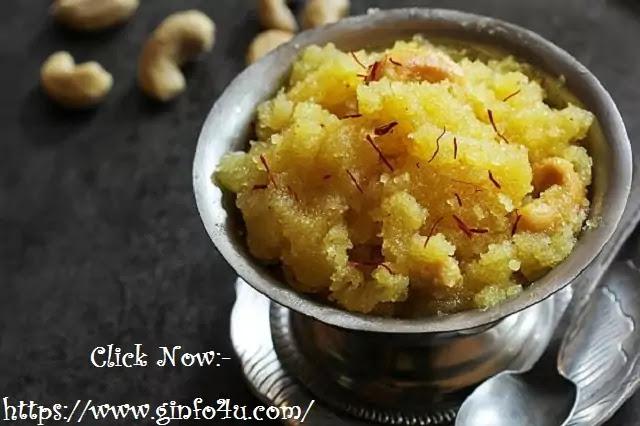 rava kesari recipe-how-to-make-rava kesari recipe-at-home-in-english-Ginfo4u