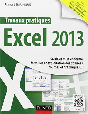 Travaux pratiques - Excel 2013 - Saisie et mise en forme, formules et exploitation des données, courbes et graphiques... - Fabrice Lemainque