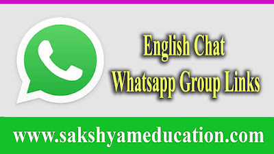 Join English Chat Whatsapp Group Links