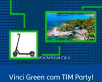 """TIMParty concorso """"Vinci Green"""" : ogni giorno 1 monopattino elettrico e una vacanza in eco-resort con estrazione finale"""