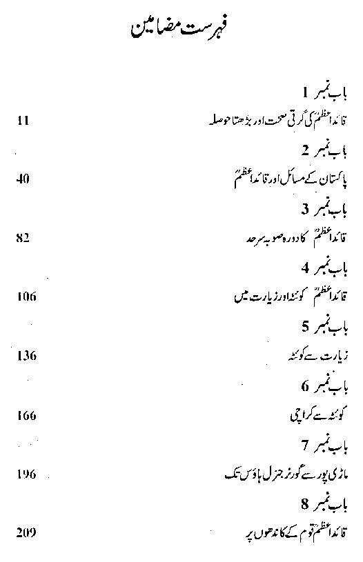 Quaid i Azam Muhammad Ali Jinnah Urdu Book