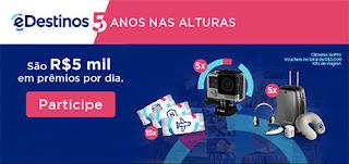 Participar promoção eDestinos 2016