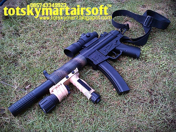Totskymart Toys and Hobbies: MP5 SD6 Shorty (mini upgrade)