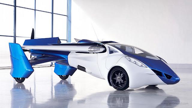 comment fonctionne les voitures volantes