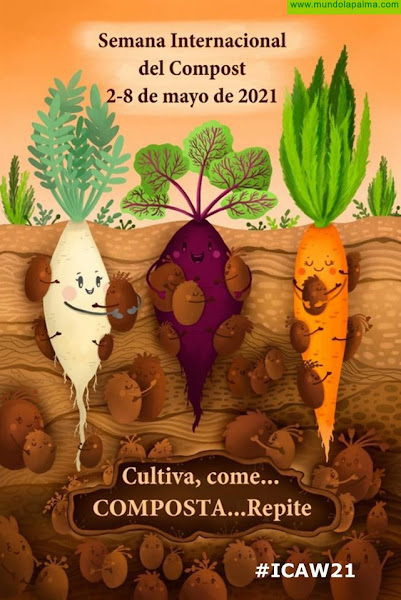 La Palma Orgánica se suma al movimiento de la Semana Internacional del Compost