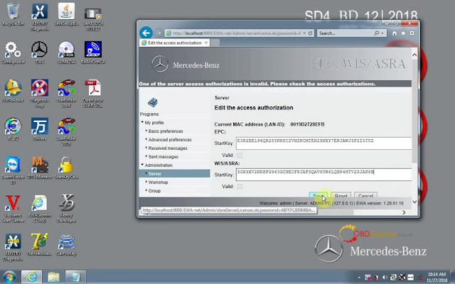 SD CONNECT C4: How to fix Xentry tips: Fault code P012800
