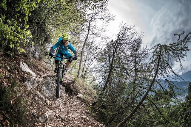 Mountainbike Tour Trento mtb bbs bikebergsteigen mt. Marzola