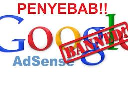 Penyebab Blog Kena Banned AdSense Paling Sering Terjadi