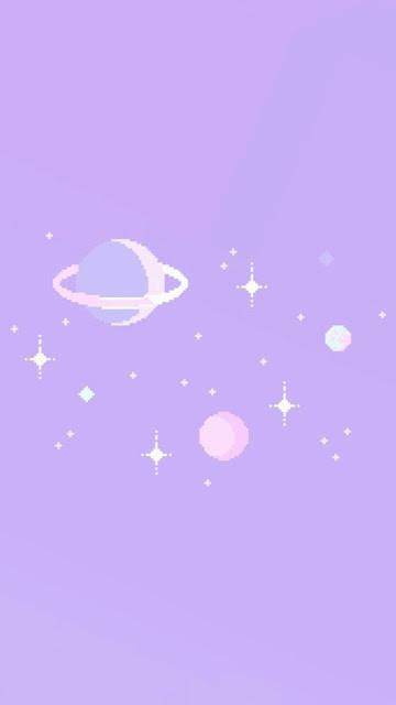 cute purple wallpaper