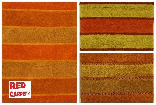 mallino-xali-shaggy-red carpet