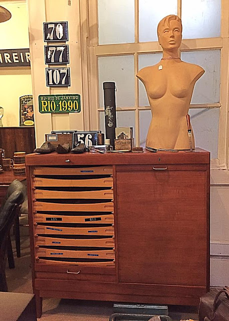 arquivo, vintage, móvel, nórdico, móvel, móveis vintage