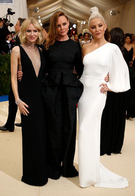 Naomi Watts, Stella McCartney and Kate Hudson in Stella McCartney