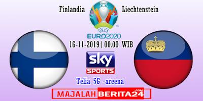 Prediksi Finlandia vs Liechtenstein — 16 November 2019