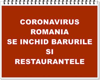stiri de ultima ora coronavirus romania