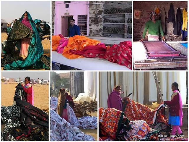indian fabric print
