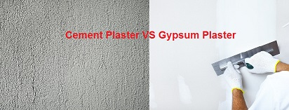 Difference Between Cement Plaster and Gypsum Plaster Civil Lead