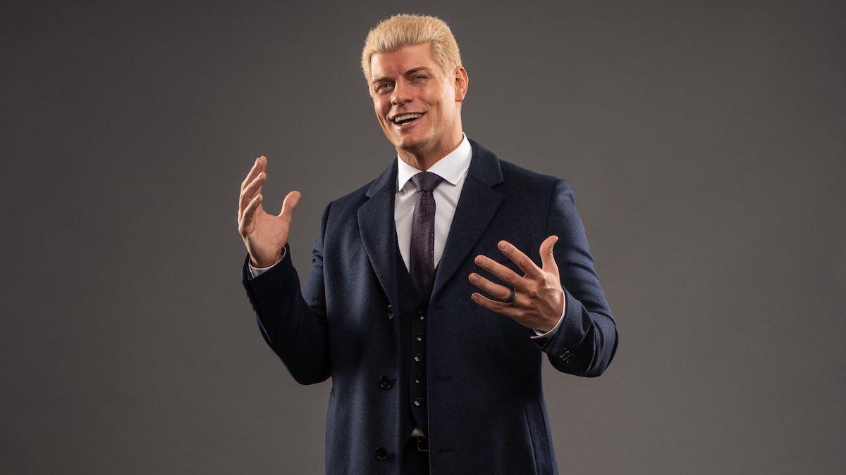 Cody Rhodes deve retornar para a AEW em breve