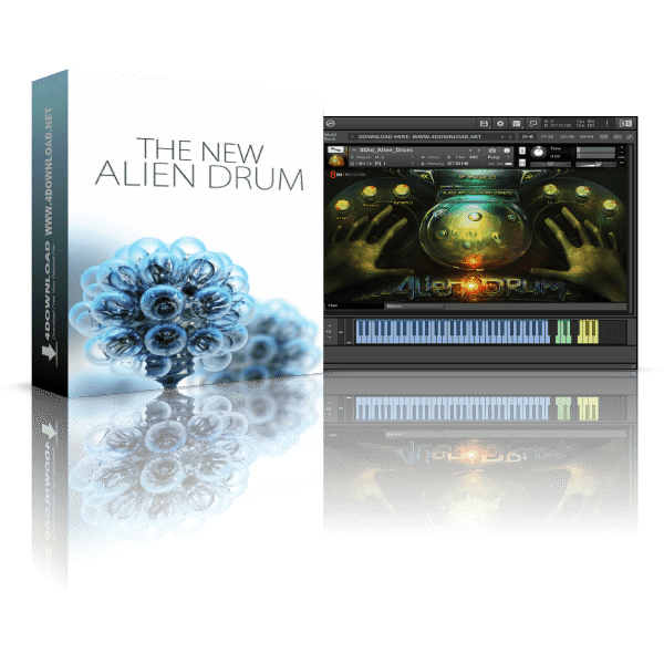 8dio The New Alien Drum KONTAKT Library