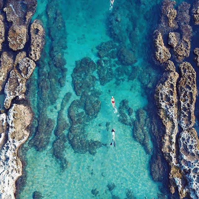 小琉球景點-厚石群礁
