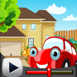 G4K Red Car Rescue Game W…