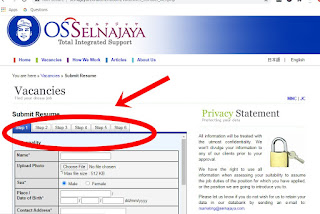 cara mendaftar via online di yayasan selnajaya
