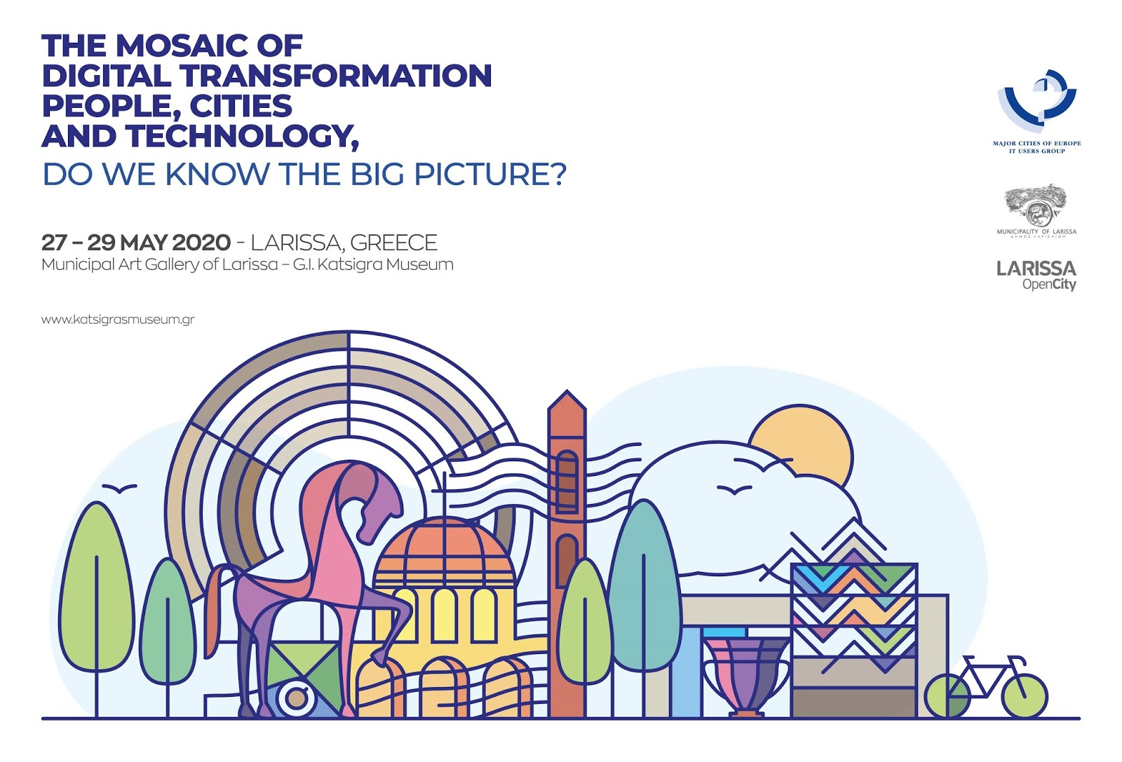 Το Διεθνές Συνέδριο του δικτύου Major Cities of Europe στη Λάρισα